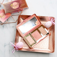 Wholesale Good Quality Makeup Palettes Wholesale - Highlighter Blush Palette Sweet Peach Glow Makeup Sweet peach glow powder long-lasting natural powder good quality vs kylie mua mor