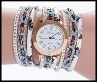 Wholesale Ribbon Watches - New women in 2017 are wrapping up a vintage national style with a vintage national style, with a high quality of quartz watch