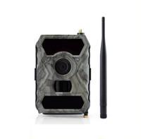Wholesale Surveillance Outdoor Camera 3g - NEW Mobilephone App Control Outdoor Surveillance Cameras 3G Wildlife Cameras MMS Hunting Outside 3G Wild Hunter Cameras ann