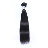 Wholesale virgin remy hair weave unprocessed for sale - Brazilian Virgin Human Hair Straight Unprocessed Remy Hair Weaves Double Wefts g Bundle bundle Can be Dyed Bleached