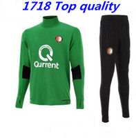 Wholesale High Quality Suits - High quality 1718 Feyenoord adult suit suit free shipping fee Fernando jersey S-3XL