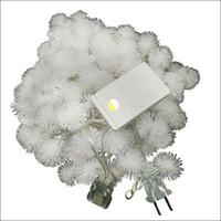 ingrosso ha condotto le luci della stringa che decorano-US AC110V LED strip lights 10M palla di neve LED fata stringa decorato chritmas albero festa di nozze vacanza