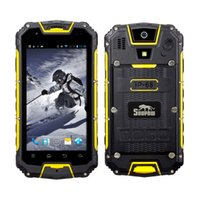 Wholesale Smartphone Android Quad Core Rugged - SNOPOW M9 Unlocked 3G Rugged Walkie Talkie Smartphone - Android IP68 Waterproof Dustproo Outdoor Tri-proof With DualSIM Powerbank PPT NFC