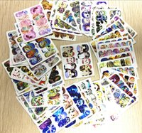 Wholesale Decals Nail Art Sticker Wrap - Wholesale-Nail Art Water Stickers fashion 50sheets lot Mixed Water Transfer Nail Tips Wraps Art Sticker Watermark Decals Decoration