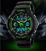 New Skmei Hot Sell S SHOCK Hombre Relógios de esportes Men Led Digit Relógio Relógios LED Dive Military Relógios de pulso