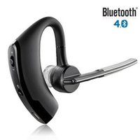 Wholesale Headphone Control Sport - V8 Handsfree business bluetooth headset earphone with mic voice control wireless bluetooth headphone for sports noise cancelling
