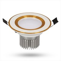 5730 luces de techo LED 3-24W IC Drive AC265V 210-1680 LM luces de techo LED con aluminio para interiores