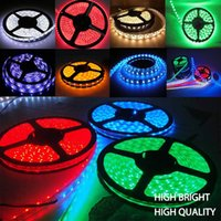 Wholesale 5m Led Strip Waterproof Epistar - Hot! High Lumen Ultra Bright CRI 80 Epistar SMD 5630 Led Strip Lighting 5m roll RGB Waterproof
