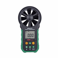 speed air - Freeshipping aimometer High quality Digital Anemometer Wind Speed Air Volume Measuring Meter Bring LCD