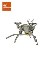 Fire Maple Gas Stove Backpack Fogão Cozinhando Outdoor Camping Picnic Hiking Stainless Steel 2450W 199g FMS-100