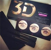 Wholesale Wholesale Lashes Usa - Mascara 1030 version 3D Fiber Lashes LENGTHENING mascara Black color High quality 2pcs=1set fashion item in usa uk