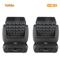 Wholesale Pro Stage Lighting - (2 pieces lot) Matrix Led Moving Head Beam Light Quad colors RGBW Pro Stage Lighting