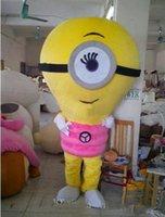 Wholesale Lamp Bulb Costume - ems free shipping new Alive pink Lamp Bulb Globe Electric Light Mascot Costume Fancy Dress
