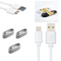 galaksi usb kablosu toptan satış-Mikro USB Kablosu V8 V9 1 M / 3FT Mikro USB Sync Veri Kablosu 3.0 Şarj şarj Tel Için Galaxy S5 Not 3 Tipi C USB Kablosu Yüksek kalite DHL
