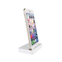 Wholesale Desktop Charger For Apple - Wholesale Cell Phone Chargers Desktop Charger Dock Syncing Station USB Cradle Charger for iPhone 7 6 6S 6S Plus