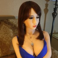 Wholesale Girl Ass - Sex Doll 158 cm Big Breast Ass Leg Sexy Mannequins Warm Girl Full Body Heated Silicone Sex Doll Real Vagina Pussy Sex For Adult