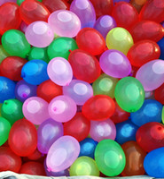 ingrosso palloncini di mele-120pcs / lot mazzo di palloncini d'acqua riempito con palloncini d'acqua in lattice di apple palloncino giocattolo palloncini iniezione rapida Summer Game Toy Natale