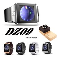 Wholesale Sd Watch Camera - DZ09 smart watch GT08 A1 U8 wrisbrand music player SIM Intelligent mobile phone watch can record the sleep state can fit 32G sd card
