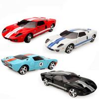 motor de coche rc 4wd al por mayor-Ford GT Modelo 4WD RC Car Radio Control Racing Cars Juguetes para niños Regalo de Navidad Venta caliente Juguetes Envío de la gota