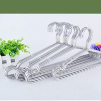 Metal special hangers - Hanger Men Solid Stable Clothes Rack Supermarket Special Durable Hangers Practical Airer Stainless Steel Clotheshorse For Home fs R