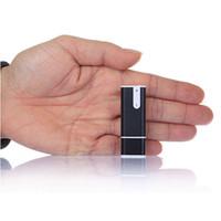 usb flash drive 8gb pen venda por atacado-Venda por atacado - Levert DropshipBinmer venda quente preto 3 em 1 USB Flash Drives 8 GB Pen Disk Audio Voice Recorder MP3 Player outubro 10