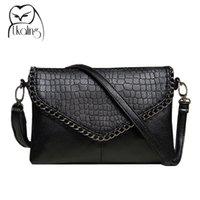 Wholesale Clutch Bag Wholesale Prices - Wholesale-New Fashion Small Bag Women Messenger Bags Soft PU Leather Crossbody Bag For Women Clutches Bolsas Femininas Dollar Price