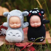 Wholesale Kawaii Fashion Baby - Cute Sleeping Baby Plush Toys Pendant for Bag Mobile Kawaii Reborn Doll Toys Soft Plush Stuffed Dolls