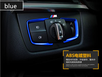 Wholesale Decoration Series - Dedicated to BMW 3 Series Interior Decorative 1 2 4 Series gt 320li Headlight Switch Decorative Stickers