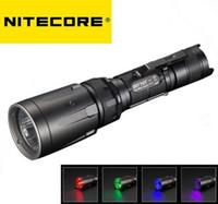 Wholesale Nitecore Rechargeable Flashlight - New Nitecore SRT7GT Cree XP-L HI V3 1000 Lumens LED Flashlight (3 color LED, UV)