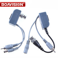 Compra Bnc Rj45-CCTV CAT5 RJ45 BNC Balun Video Audio Power per fotocamera 5 porte