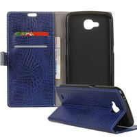 Wholesale Crocodile Flip Phone - Crocodile Pattern Case For Galaxy S8 Premium PU Leather Wallet Case Flip Phone Cover With Card Slots For LG stylo 3 OPP BAG