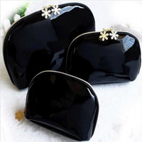 NEW! Snowflake 3pcs cosmetic case luxury makeup organizer bag beauty toiletry wash bag clutch purse tote VIP gift
