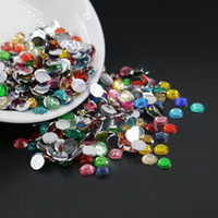 Wholesale Assorted Color Flatback Rhinestones Mixed Color Resin Flat Back Beads For DIY Deco mm mm mm mm