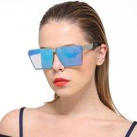 quadratische schutzbrille großhandel-Sommer Square Farbverlauf Sonnenbrillen Outdoor Sports Sonnenbrillen Herren Damen Oculos Sonnenbrille Retro Goggles Adumbral UV-Schutz UV400 Eyewear
