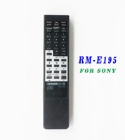 Wholesale digital video recorder player - Wholesale- Universal Remote Control RM-E195 For Sony DIGITAL AUDIO DISC CD DVD Recorder RM-E195 228ESD 227ESD