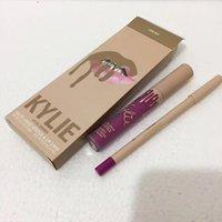 Wholesale Glitz Wholesaler - Kylie take me your vacation Lipstick june bug lip kit Lipsticks + lip liner Lip Gloss glamour birthday suit bare glitz commando