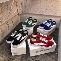 Wholesale Bolt Red - Wholesale REVENGE x STORM Low Top Casual Sneaker Lightning Bolt Sneaker Black  Red  Blue  Green Ian Connor's Shoes 2017 Free Ship