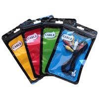 carregador do saco usb venda por atacado-Novo Plástico Poli Sacos de Cabo USB OPP Embalagem Zipper Zip Lock Pacotes de Acessórios de Caixas de Varejo para Celular Carregador de Parede Caso