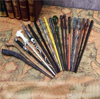 Wholesale Prop 14 - Harry Potter Magic Wand Non Luminance Hermione Ron Voldemort Narcissa Canes Peripheral Props Wand Cosplay Magic Wand 18 Style
