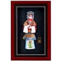 drei bilderrahmen großhandel-Der Peking-Oper Bilderrahmen Joe drei Personen Hauptlieferung traditionelle Verzierungen Geschäftsgeschenke