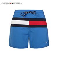 Wholesale Mens Bermuda Casual - Hot sale Mens Shorts Casual Solid Color Board Shorts Men Summer style bermuda masculina Swimming Shorts Men Sports Short free shipping