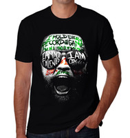 Wholesale Hunting Tee Shirt Xl - CONOR MCGREGOR NOTORIOUS MMA HUNT IRELAND IRISH t-shirt men women tee euro size S~XXXL