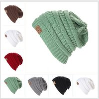 Wholesale Military Hat Male - Ms male bar knitting hat in the fall and winter of Europe and the United States Outdoor thickening ski cap