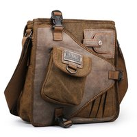 2017 Ruil Retro Canvas Sacs à bandoulière Multifonction Man Leisure Tooling Messenger Package Vintage Handbag European American Style
