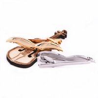 Wholesale Moustache Shirts - 2 color silver and gold color Golden Moustache Tie Clips Mustache Shape Design Tie Clips High Quality Tie Bars for Men's Shirt