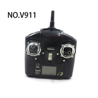 Wholesale V911 Spare Parts - Wholesale WL V911 RC Helicopter Spare Parts Remote controller Transmitter Free Shipping