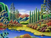 Wholesale Mountain Paintings - 5D Diamond Embroidery needlework diy Diamond painting Cross Stitch Kits landscape mountain full square diamond mosaic Room Decor zf0034