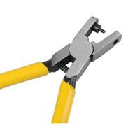 gelbe lederuhren großhandel-Großhandels-Niedrigster Preis Gelbe Uhr für Band-Bügel-Verbindungs-Gurt Locher-Zangen-Ösen-Leder-Handreparatur-Werkzeug für Uhrmacher