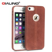 Wholesale Iphone Back Covers Unique - New Arrival phone case for iPhone 5 iPhone5s Luxury Genuine Cow leather case for iPhone5 iPhone5s Unique back cover