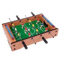 Wholesale foosball tables - Plastic Pool Table Great Christmas Gift For Kids Mini Soccer Table mini foosball soccer table 34.5*21.5*7CM